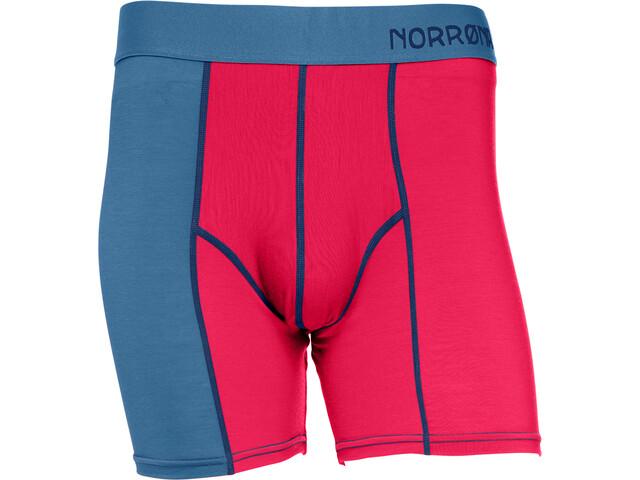 Norrøna Wool Boxer Herr jester red/denimite